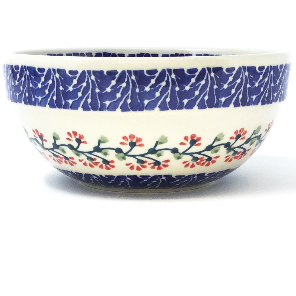 Soup Bowl 24 oz in Red Cherry