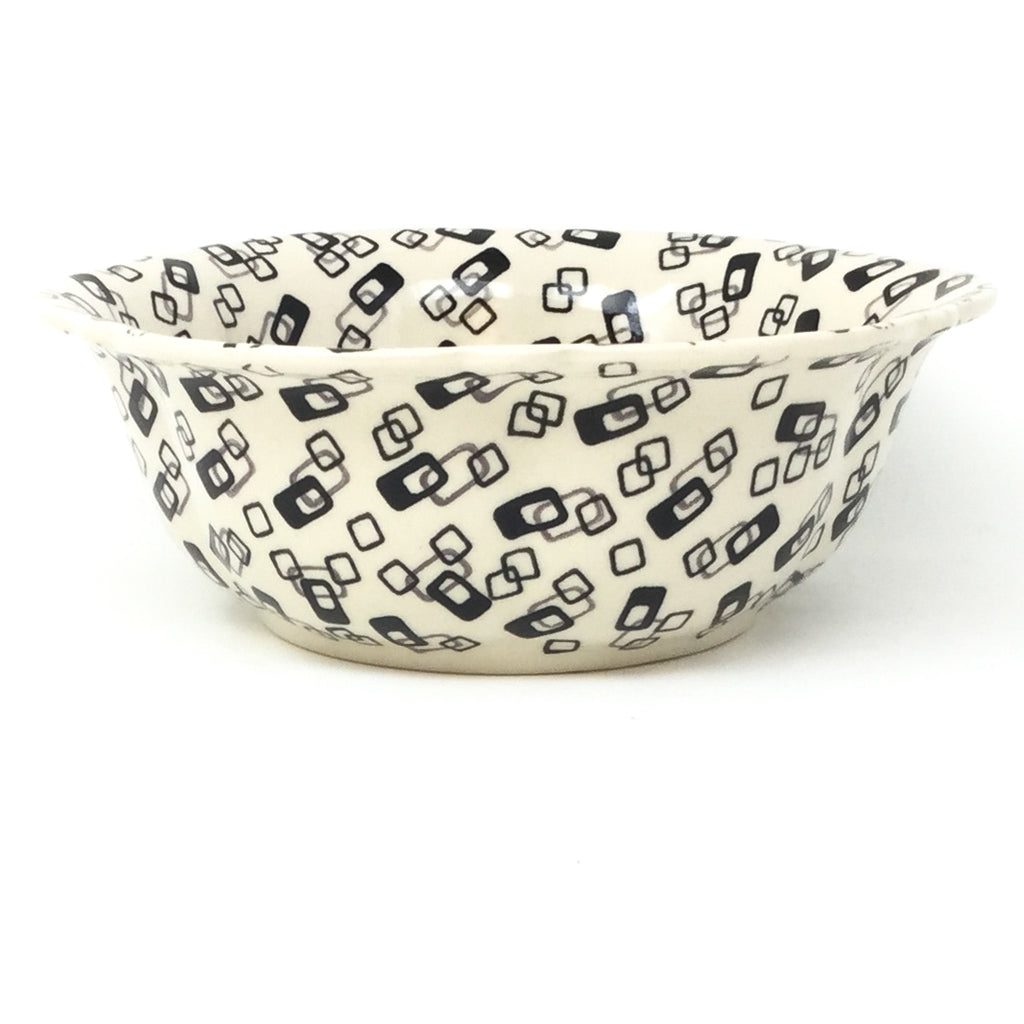 Sm Retro Bowl in Modern Gray & Black