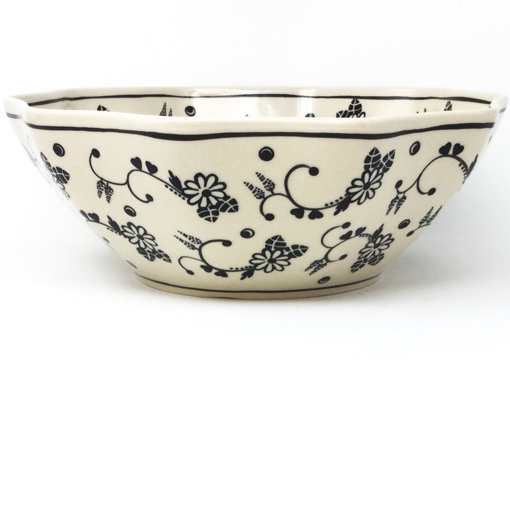 Md New Kitchen Bowl in Midnight Garden