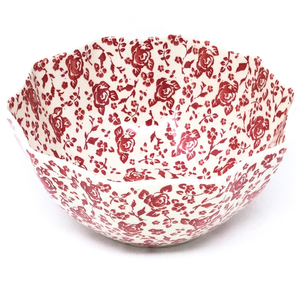 Sm New Kitchen Bowl in Antique Red
