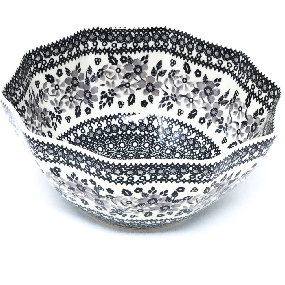 Sm New Kitchen Bowl in Gray & Black