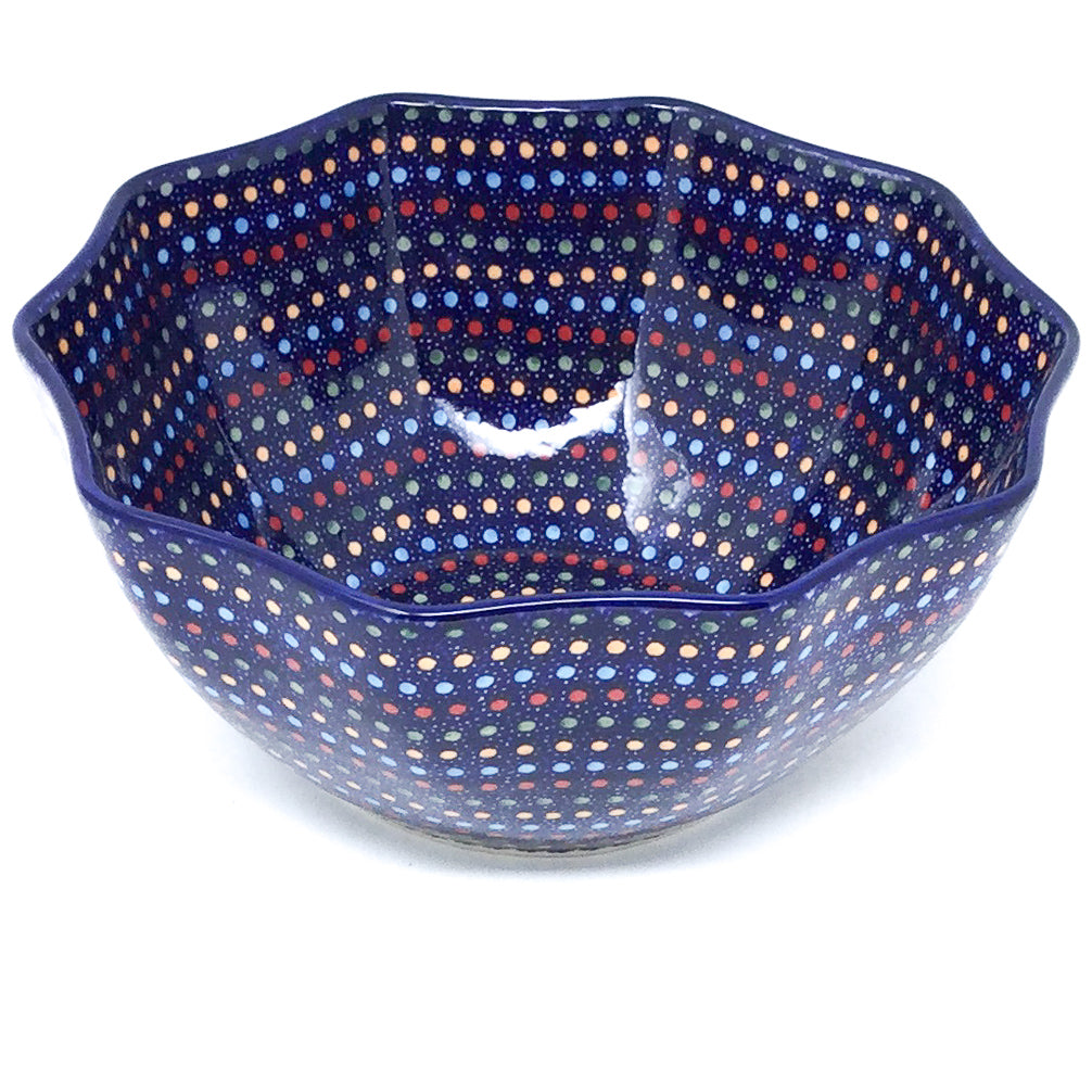 Sm New Kitchen Bowl in Multi-Colored Dots