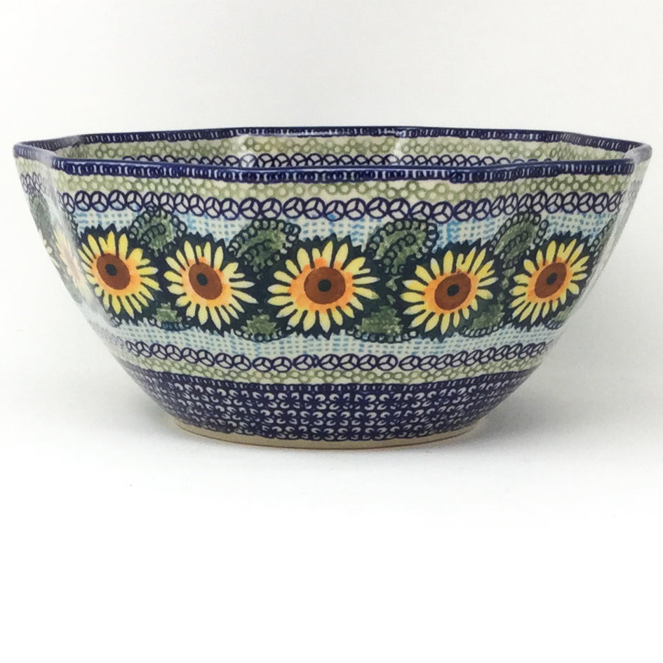 Sm New Kitchen Bowl in Sunflowers