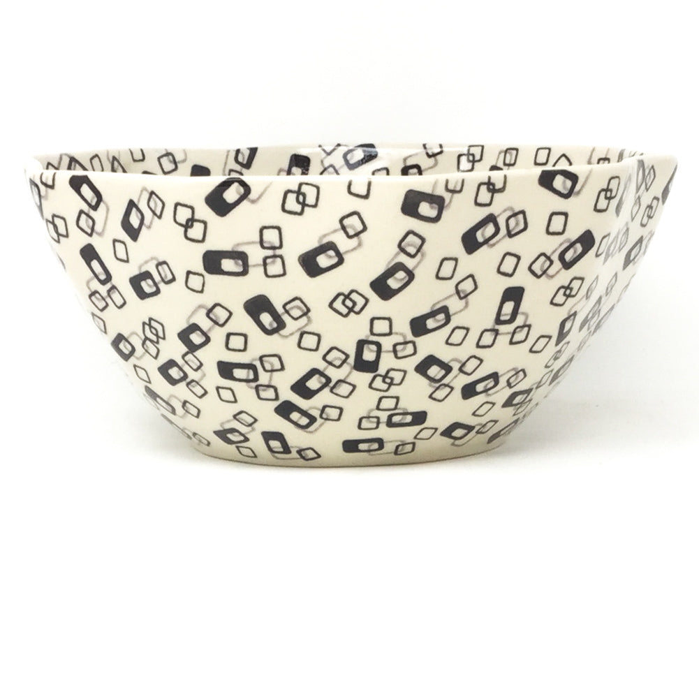 Sm New Kitchen Bowl in Modern Gray & Black