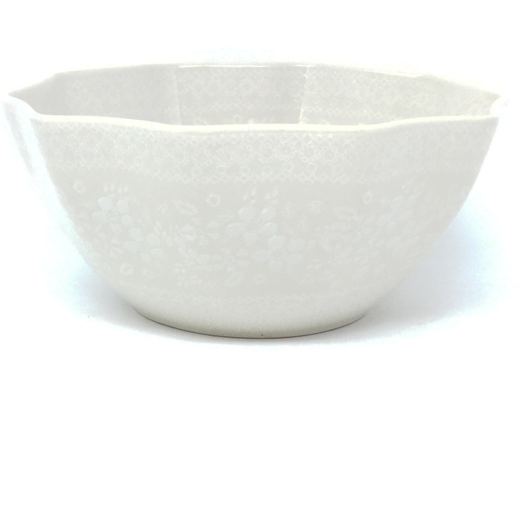 Sm New Kitchen Bowl in White on White
