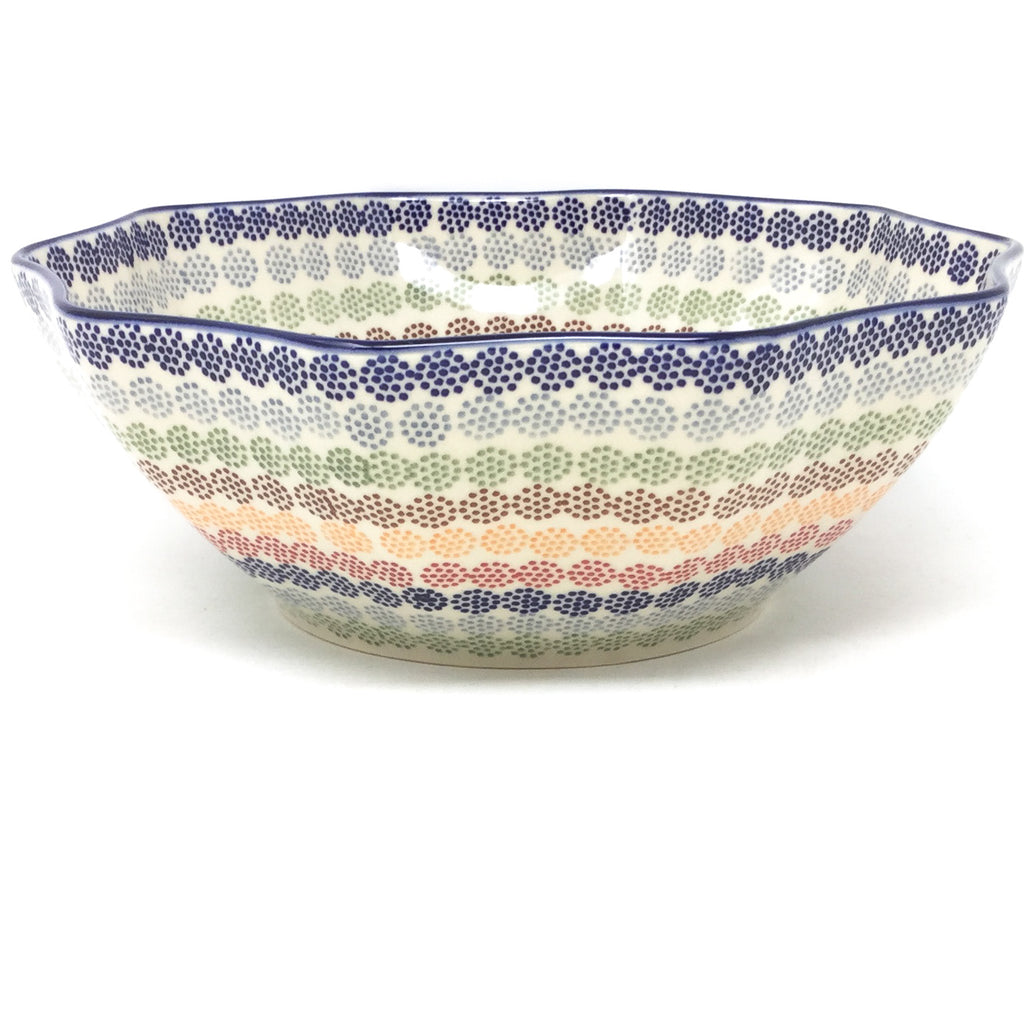 Md New Kitchen Bowl in Modern Dots