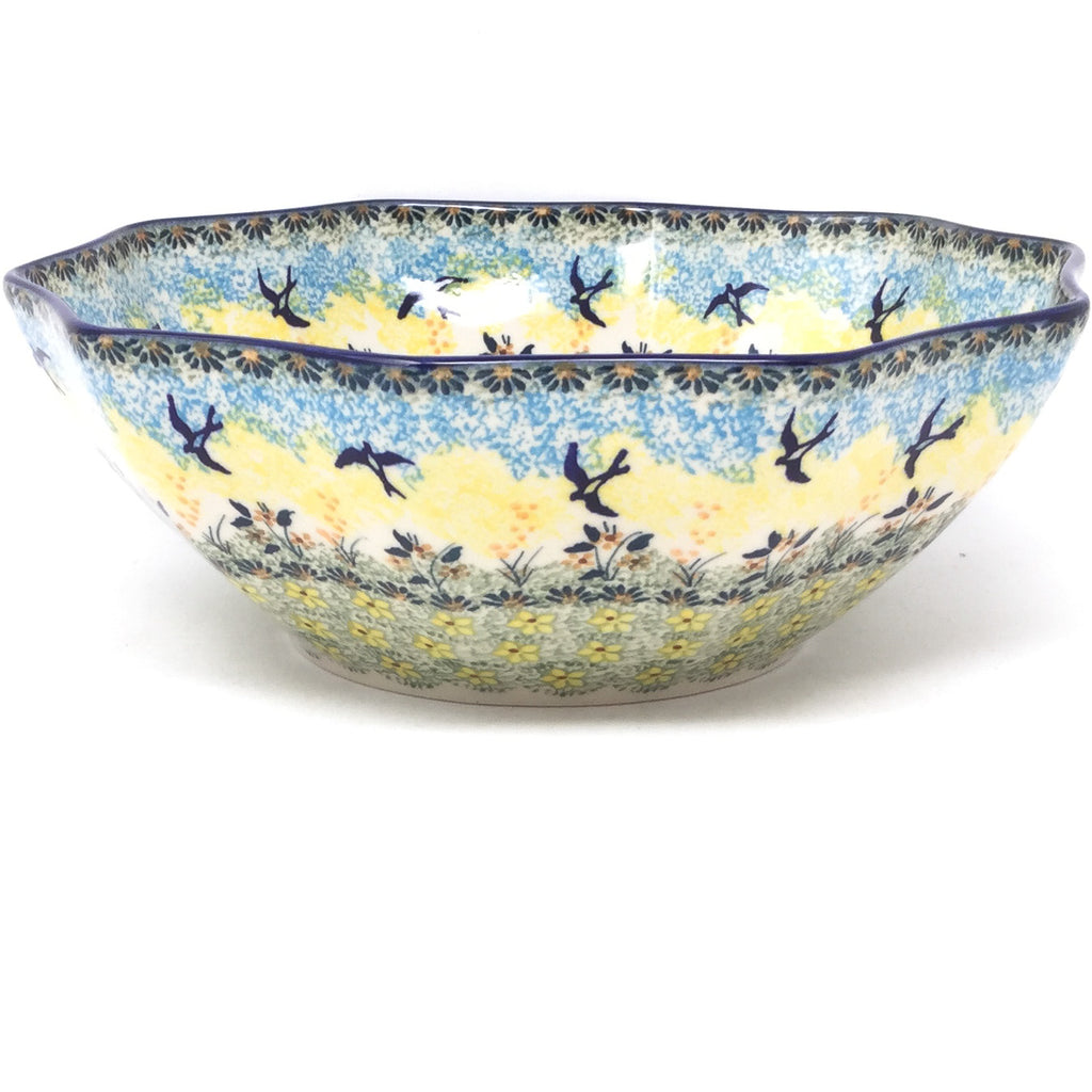 Md New Kitchen Bowl in Birds