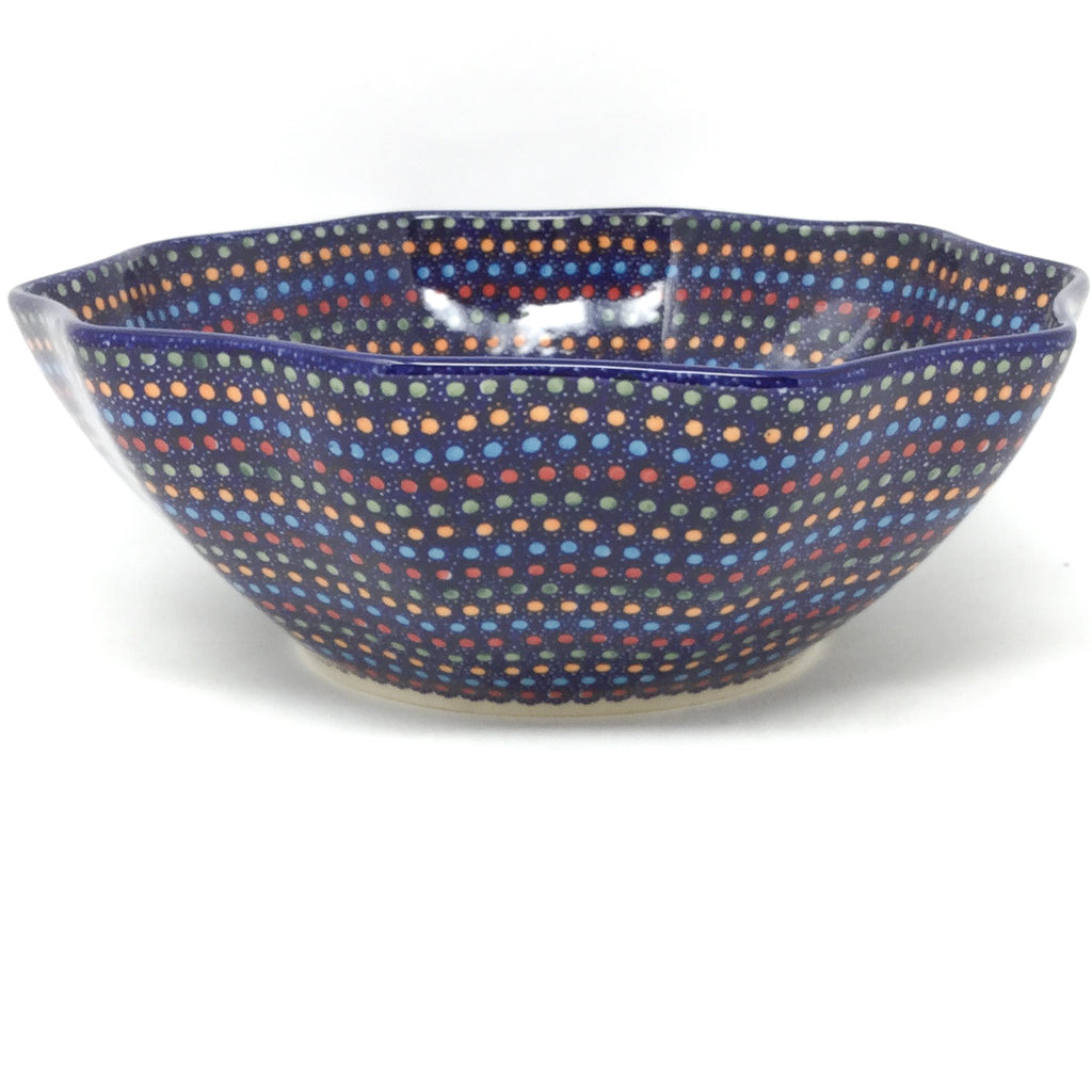 Md New Kitchen Bowl in Multi-Colored Dots