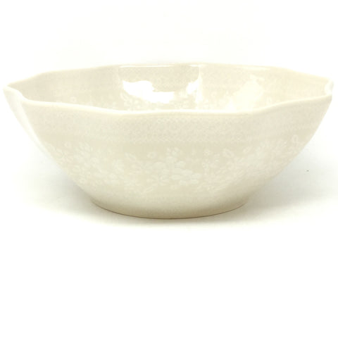 Md New Kitchen Bowl in White on White