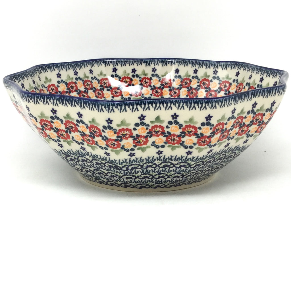 Md New Kitchen Bowl in Wild Roses