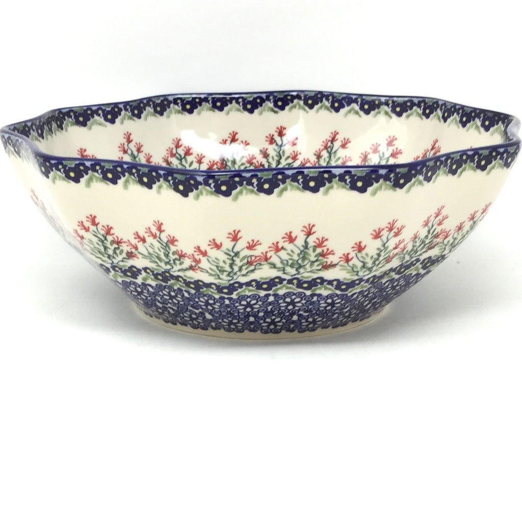 Md New Kitchen Bowl in Field of Flowers