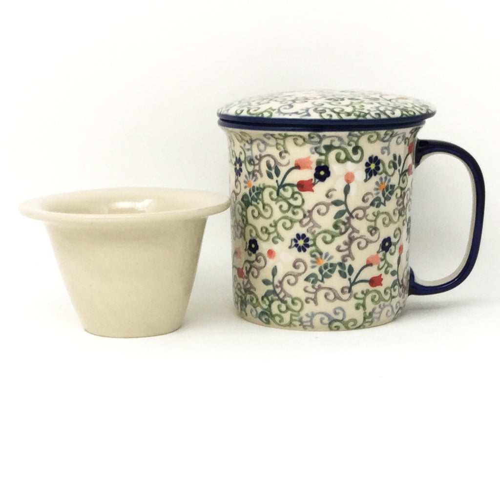 Straight Cup w/Infuser & Cover 12 oz in Early Spring