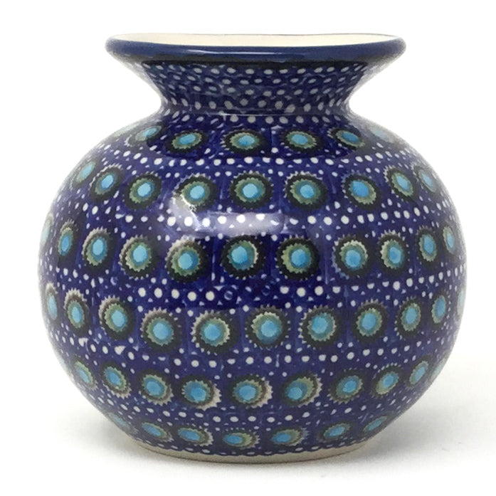 Round Vase in Blue Moon