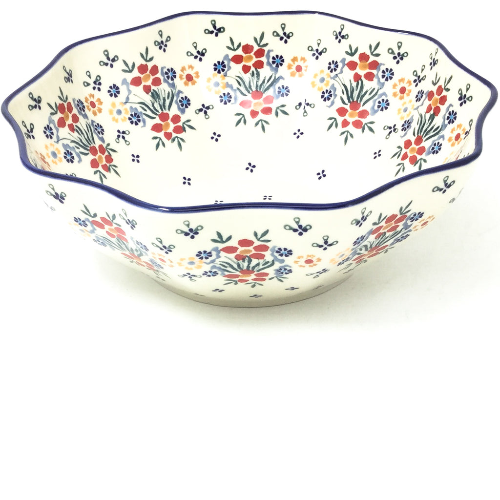 Md New Kitchen Bowl in Delicate Flowers