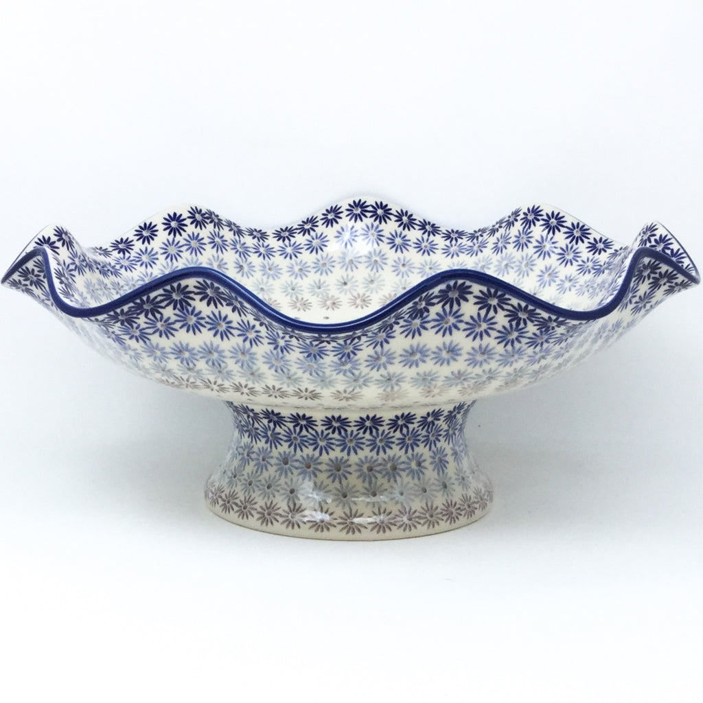 Fluted Pedestal Bowl in All Stars