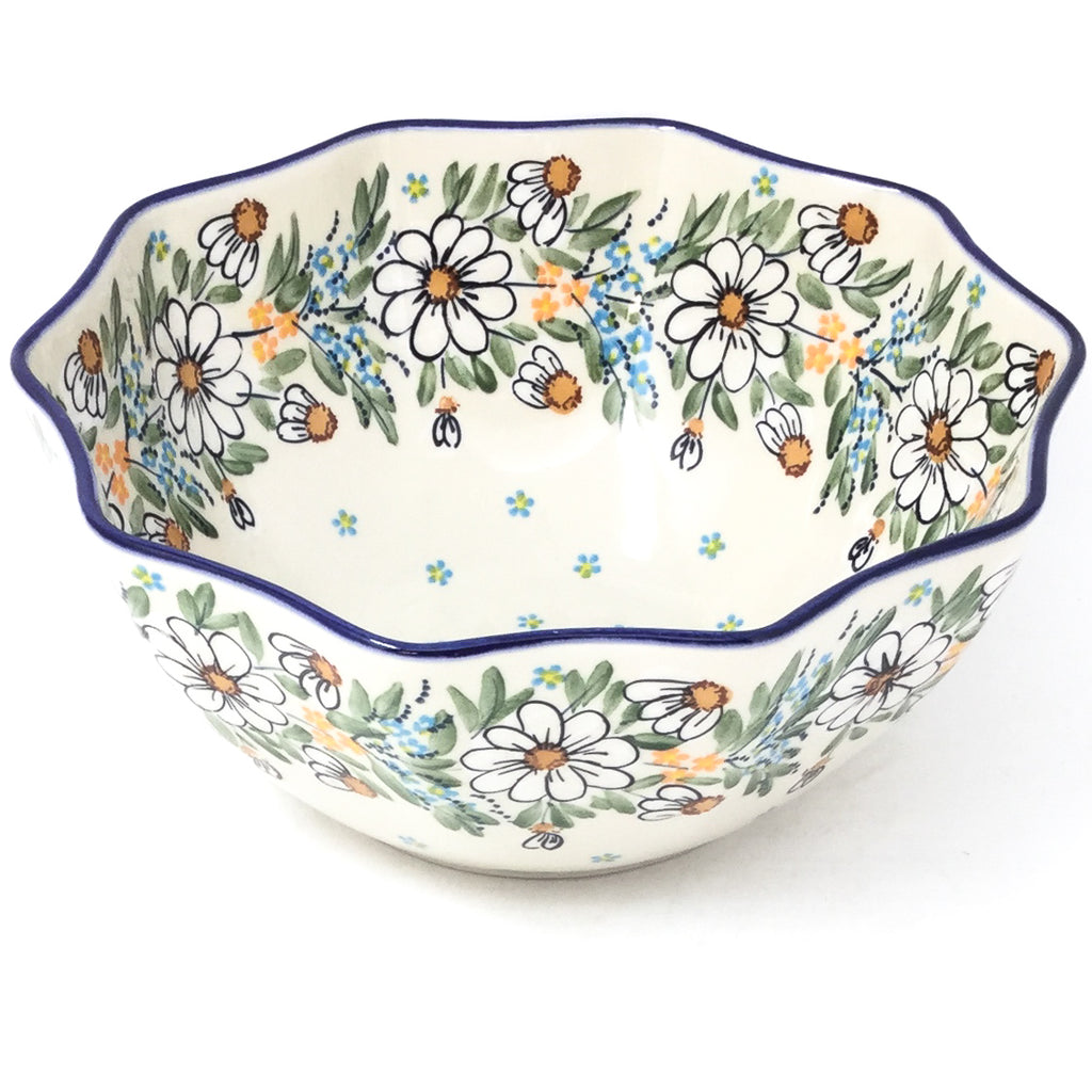 Sm New Kitchen Bowl in Spectacular Daisy