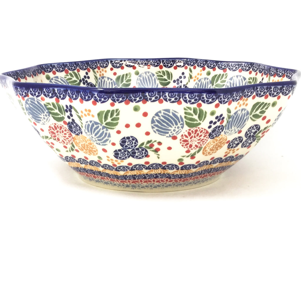 Md New Kitchen Bowl in Modern Berries