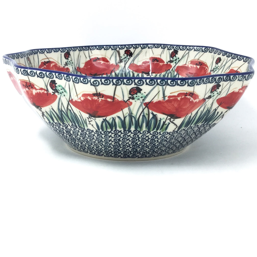 Md New Kitchen Bowl in Polish Poppy