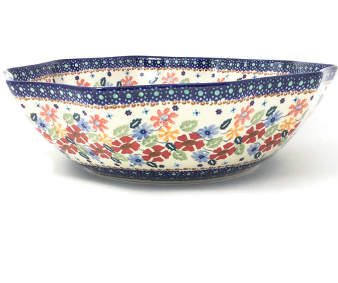 Lg New Kitchen Bowl in Wild Flowers