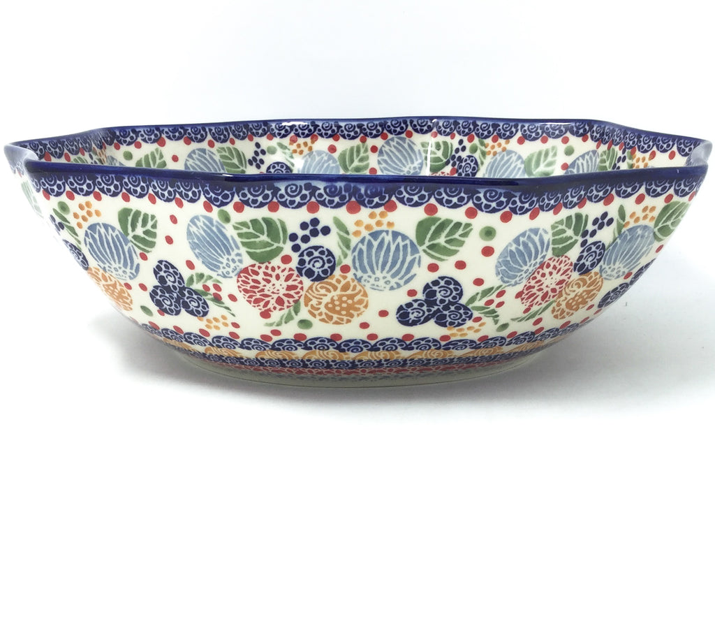 Lg New Kitchen Bowl in Modern Berries