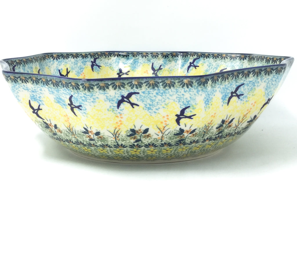 Lg New Kitchen Bowl in Birds
