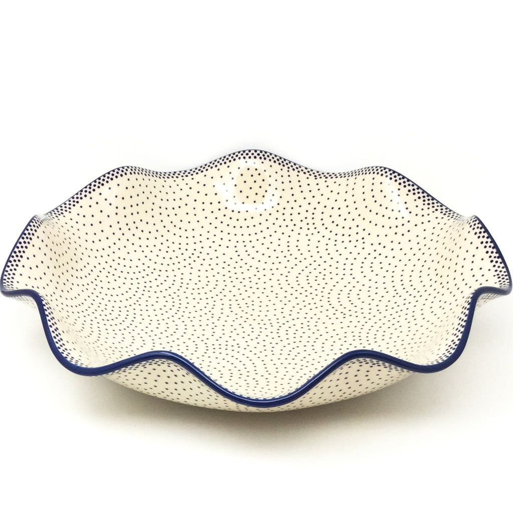 Fluted Pasta Bowl in Simple Elegance
