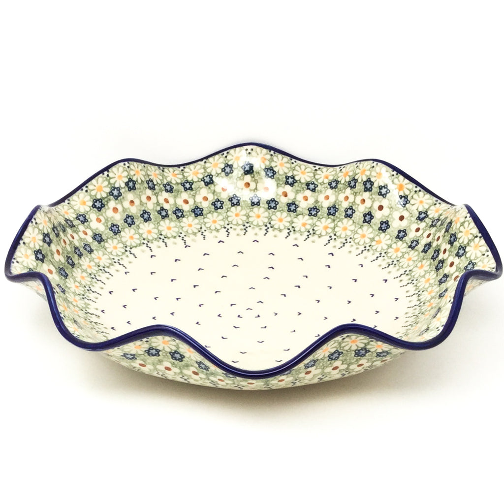 Fluted Pasta Bowl in Spring