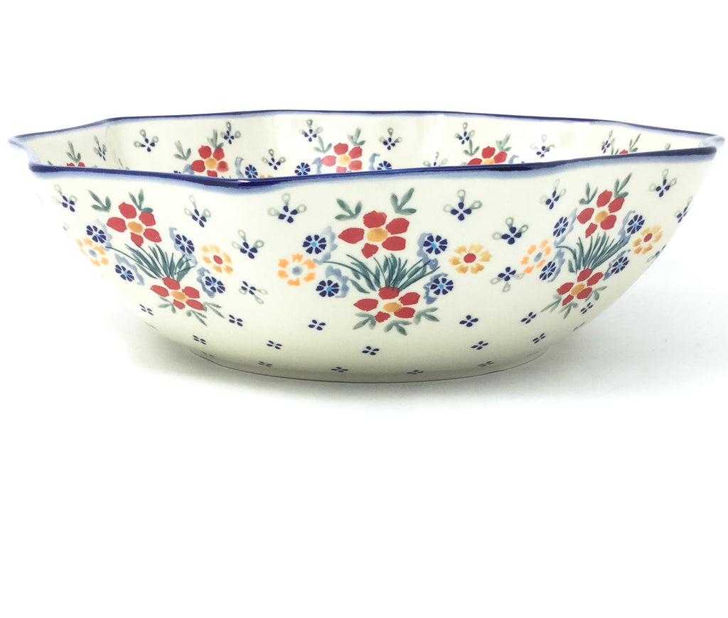 Lg New Kitchen Bowl in Delicate Flowers