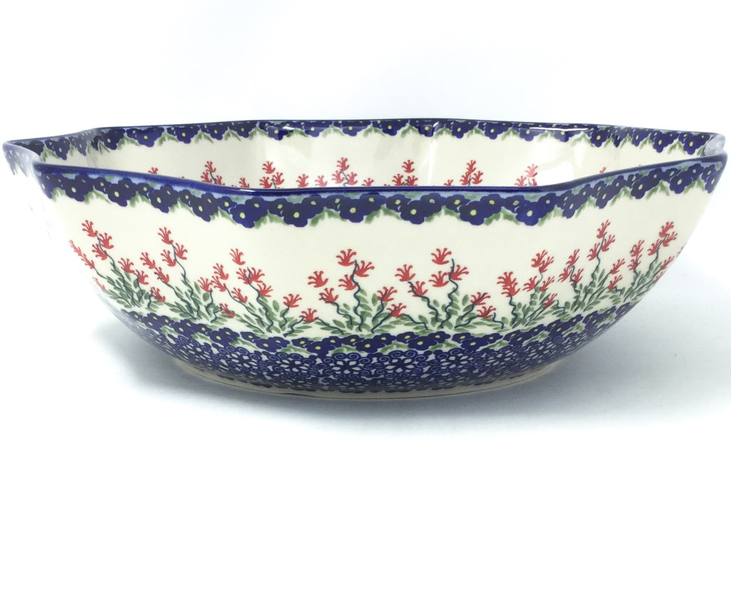 Lg New Kitchen Bowl in Field of Flowers