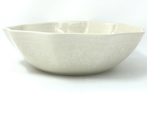 New Kitchen Bowl in White on White