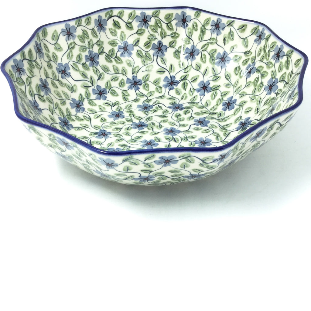 Lg New Kitchen Bowl in Blue Clematis