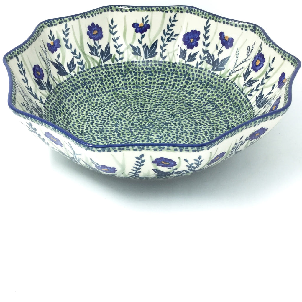 Lg New Kitchen Bowl in Wild Blue