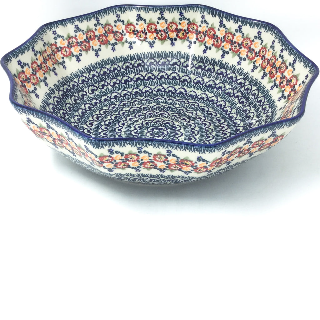 Lg New Kitchen Bowl in Wild Roses