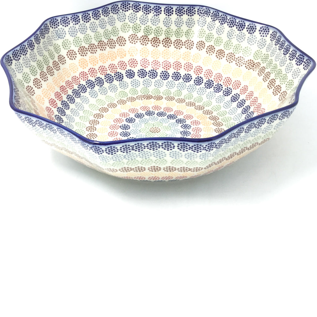 Lg New Kitchen Bowl in Modern Dots