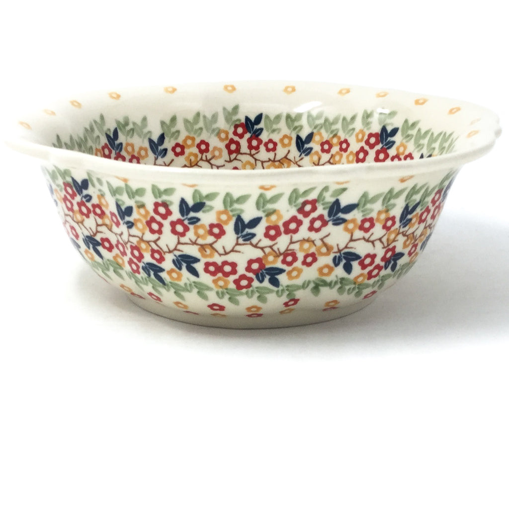 Sm Retro Bowl in Tiny Flowers