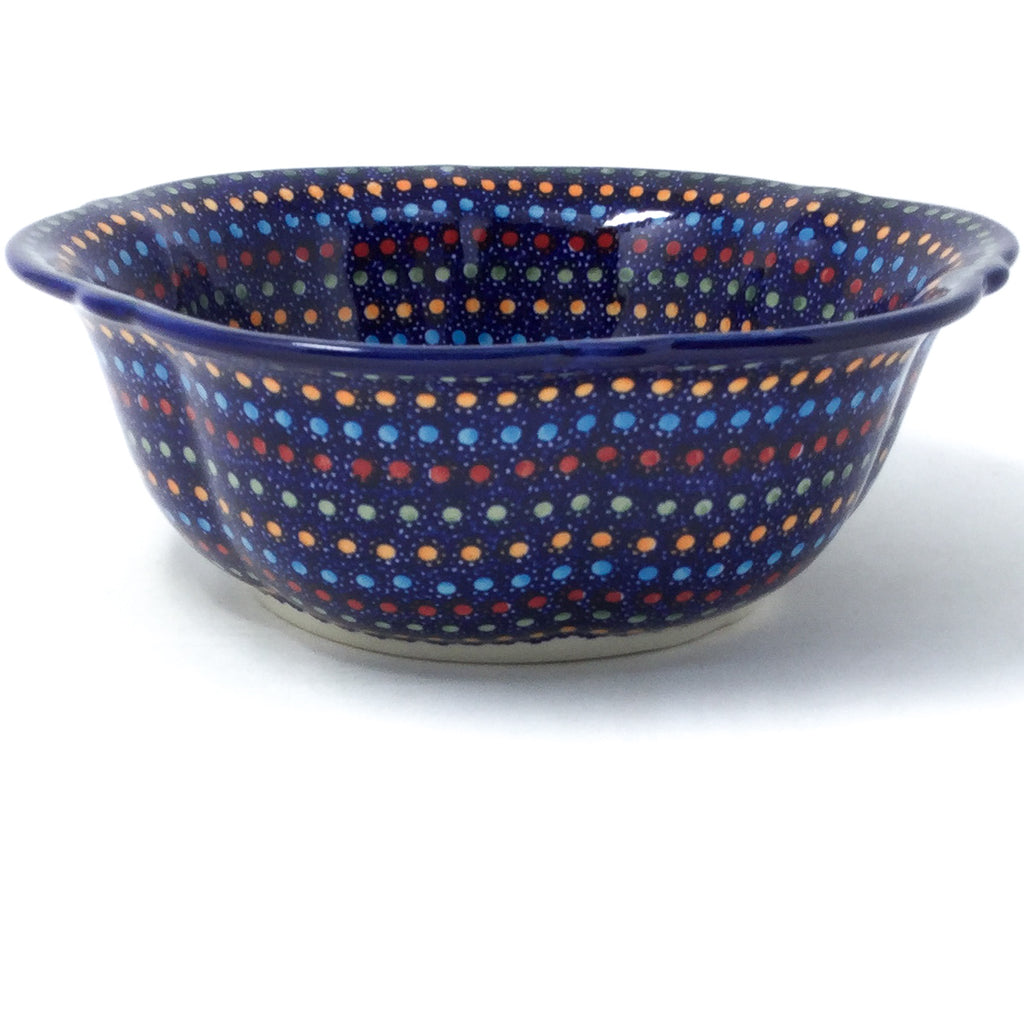 Sm Retro Bowl in Multi-Colored Dots