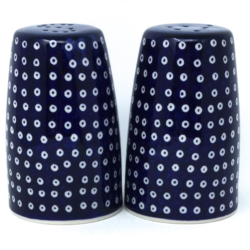 Salt & Pepper Set in Blue Elegance