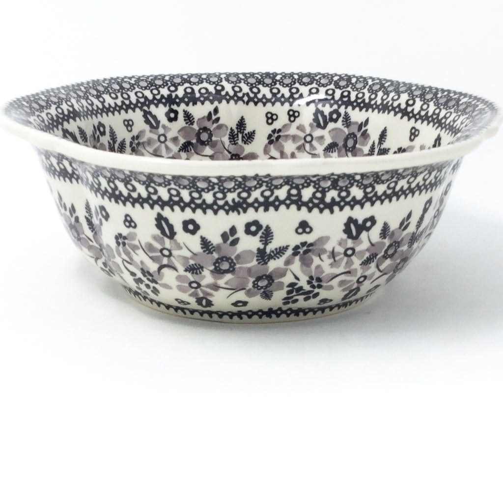 Sm Retro Bowl in Gray & Black