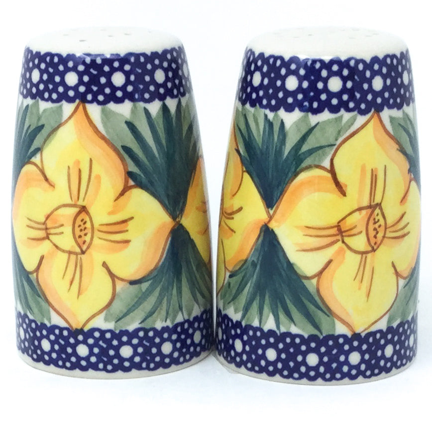 Salt & Pepper Set in Daffodils