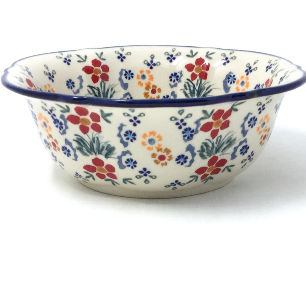 Sm Retro Bowl in Delicate Flowers
