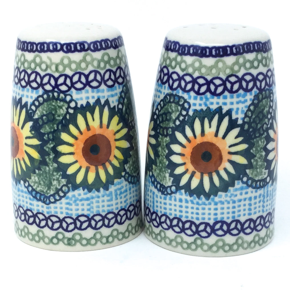 Salt & Pepper Set in Sunflowers