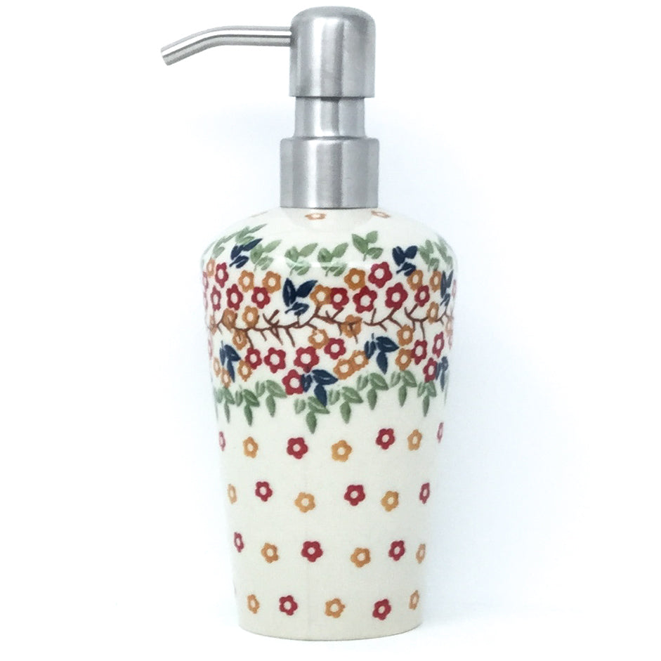Soap Dispenser in Tiny Flowers