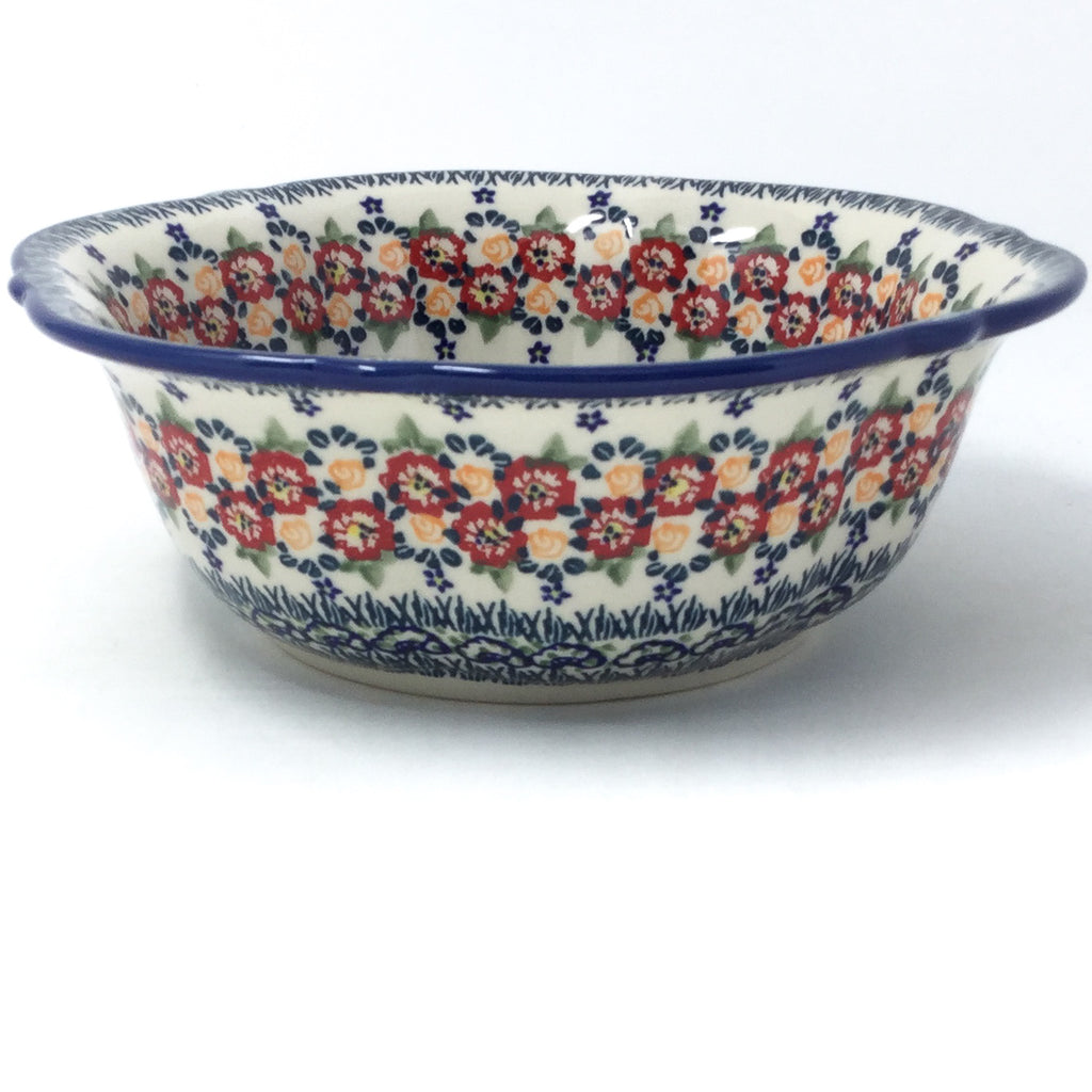 Sm Retro Bowl in Wild Roses