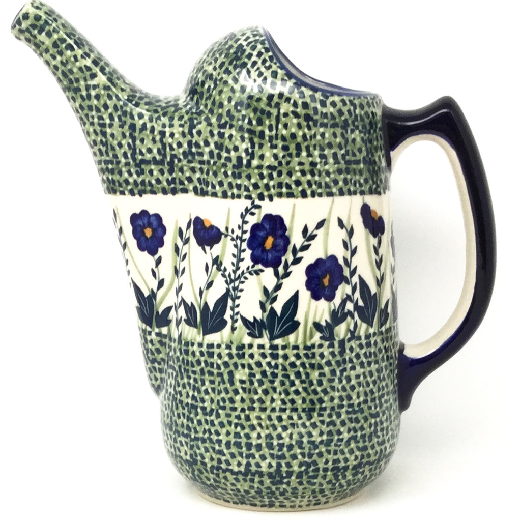 Watering Pitcher 2 qt in Wild Blue