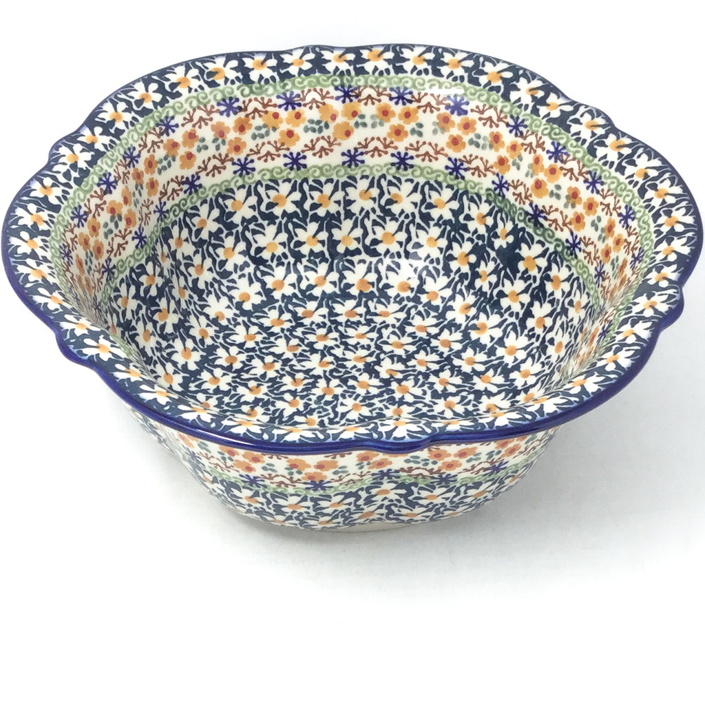 Md Retro Bowl in White Daisy