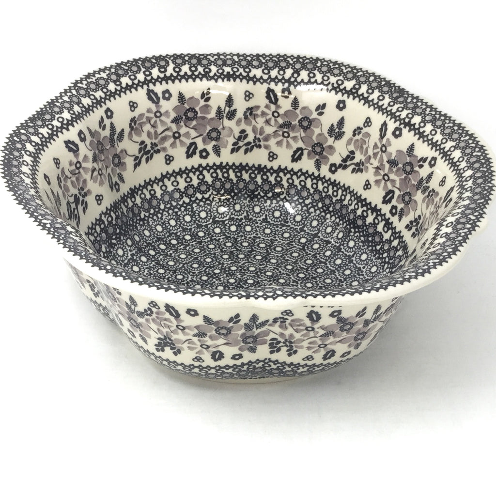 Md Retro Bowl in Gray & Black