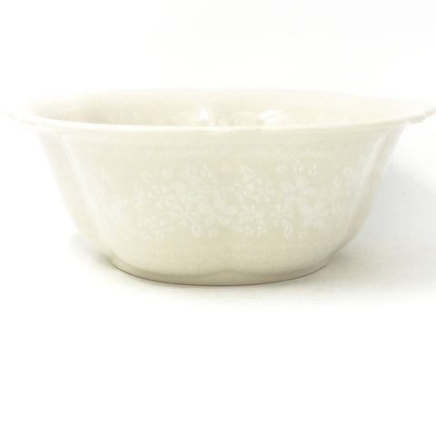 Md Retro Bowl in White on White