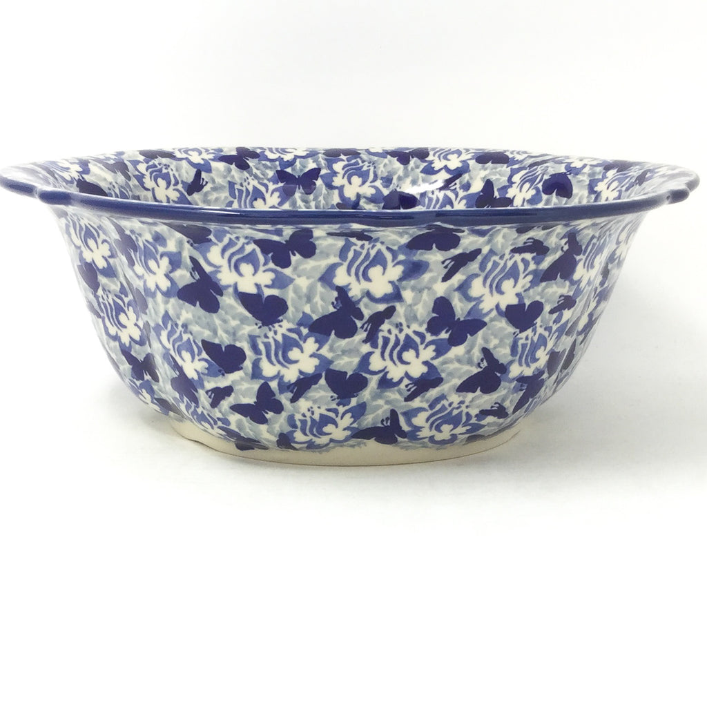 Md Retro Bowl in Blue Butterfly