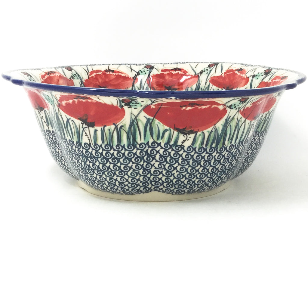 Md Retro Bowl in Polish Poppy