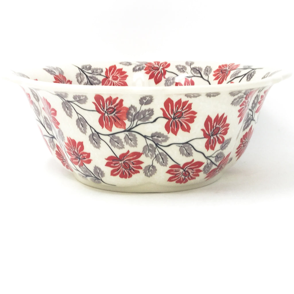 Md Retro Bowl in Red & Gray